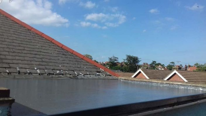 Flat Roof Replacement Ashford